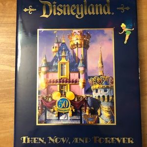 DISNEYLAND 50th Anniversary Hard Cover Photo Book